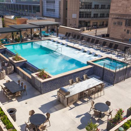 Sparkling Pool | Apartments For Rent In Kansas City | The Power  Light Building