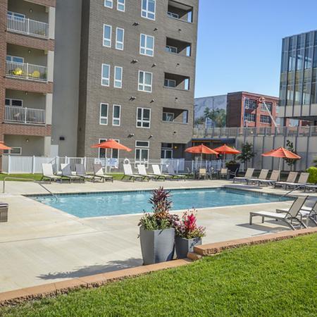 Sparkling Pool | Kansas City Apartments | RM West