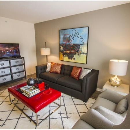 Luxurious Living Area | Apartments Kansas City | RM West