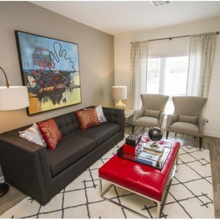 Spacious Living Room | Apartments Kansas City | RM West 1