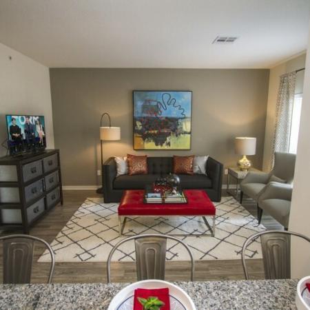 Elegant Living Room | Kansas City Apartments | RM West 1