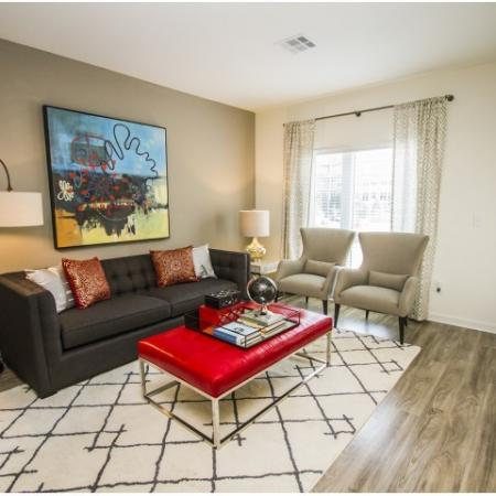 Luxurious Living Room | Apartments In Kansas City | RM West 1
