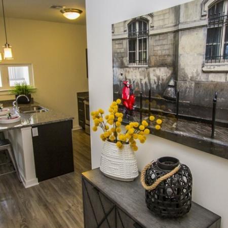 Spacious Hallway | Apartments Kansas City | RM West