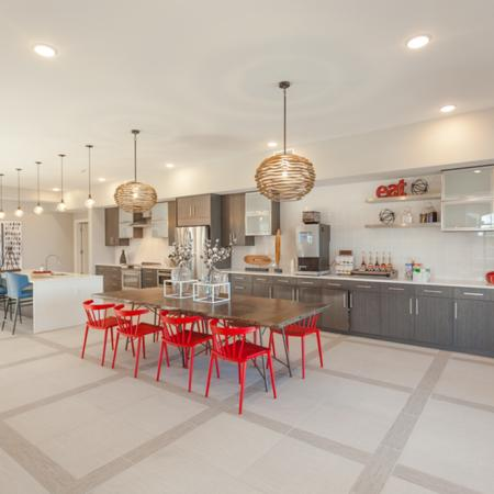Community Kitchen Space | Lees Summit Apartments | Summit Square
