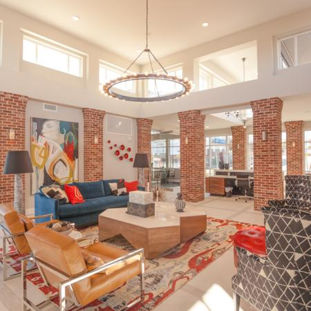 Luxurious Lobby   Apartments in Lees Summit   Summit Square