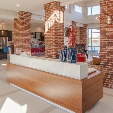 Spacious Lobby Area | Lees Summit Missouri Apartments | Summit Square