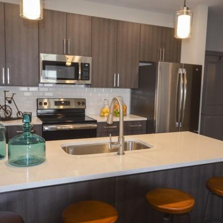 Elegant Kitchen | Apartments in Lees Summit | Summit Square