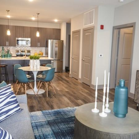 Luxurious Living Room | Lees Summit Missouri Apartments for Rent | Summit Square