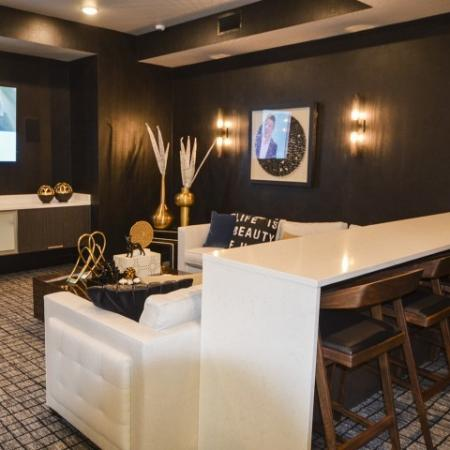 TV Lounge Area | Lees Summit Apartments | Summit Square