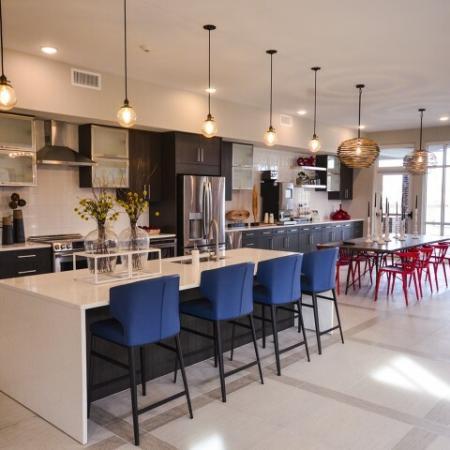 Spacious Resident Kitchen   Lees Summit Apartments   Summit Square