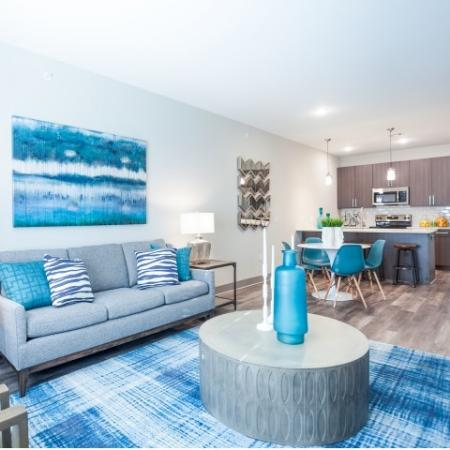 Spacious Living Room | Apartments in Lees Summit | Summit Square