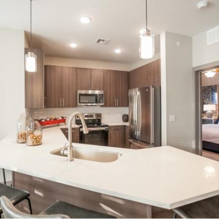 Modern Kitchen | Apartment Homes In Lees Summit | Summit Square