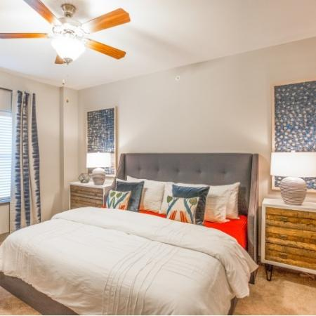 Spacious Bedroom | Lees Summit Missouri Apartments | Summit Square
