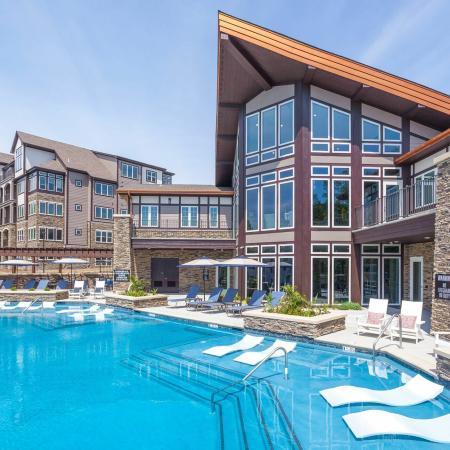 Sparkling Pool | Apartments Liberty Mo | Copper Ridge Apartments
