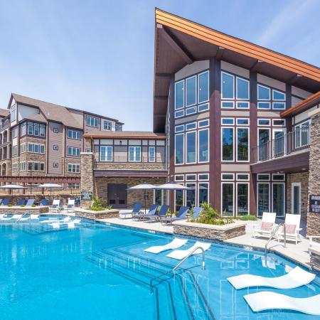 Sparkling Pool   Apartments Liberty Mo   Copper Ridge Apartments