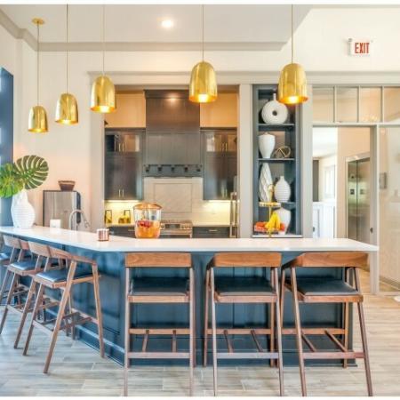 Elegant Community Club House | Liberty Mo Apartments | Copper Ridge Apartments