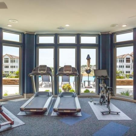 Cutting Edge Fitness Center | Apartments In Liberty Missouri | Copper Ridge Apartments