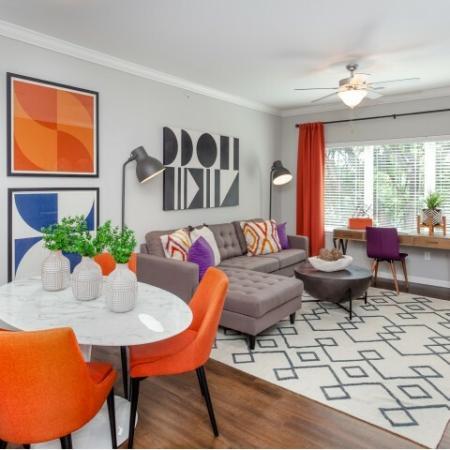 Elegant Living Room | Apartments Liberty Mo | Copper Ridge Apartments