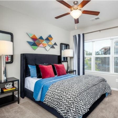 Spacious Master Bedroom | Apartments In Liberty Missouri | Copper Ridge Apartments