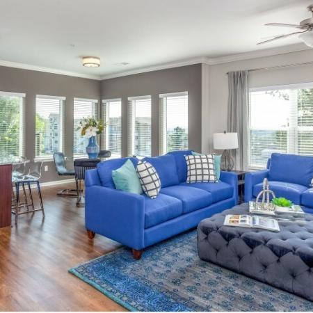 Elegant Living Area | Rentals In Liberty Mo | Copper Ridge Apartments