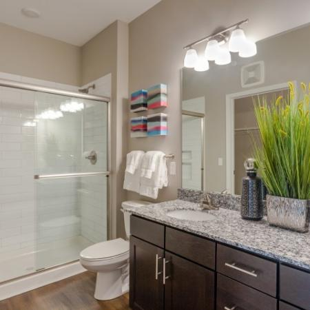 Ornate Bathroom | Apartment For Rent In Liberty Mo | Copper Ridge Apartments