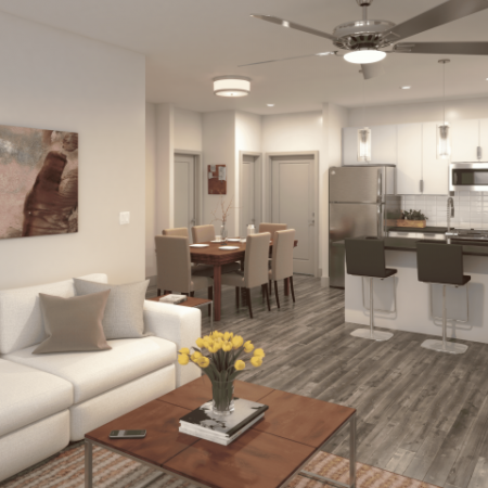Luxurious Living Room | Apartments In Kansas City | RM West