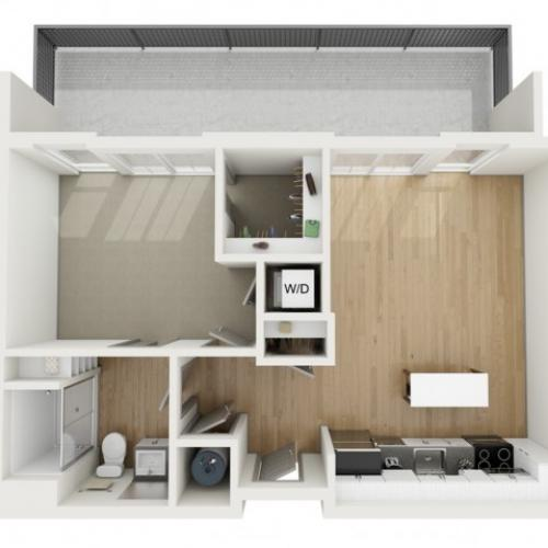 A3 One Bedroom