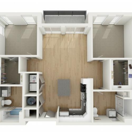 B1 Two Bedroom