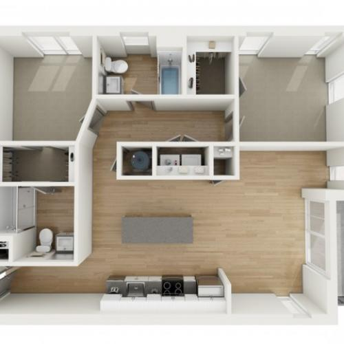 B8 Two Bedroom