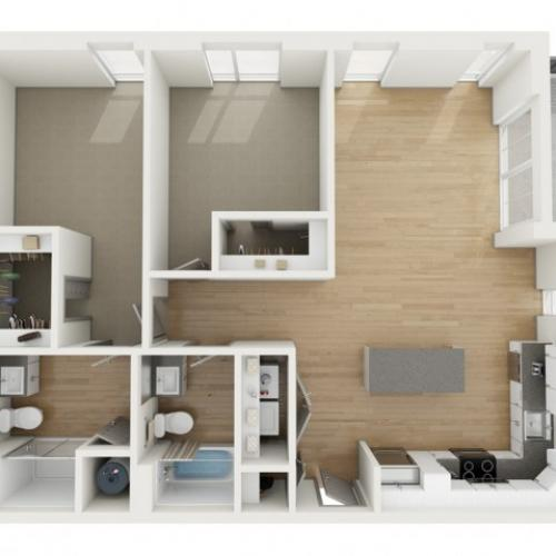 B7 Two Bedroom