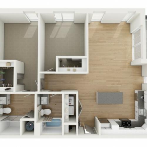 B7 Two Bedroom