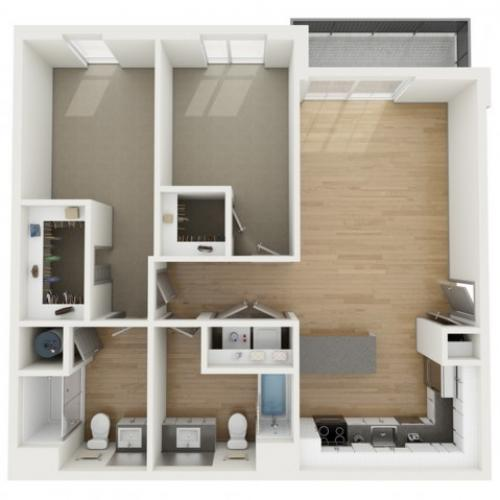 B6 Two Bedroom