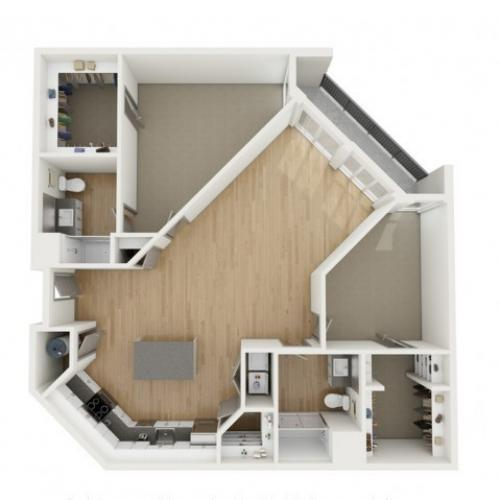 B2 Two Bedroom