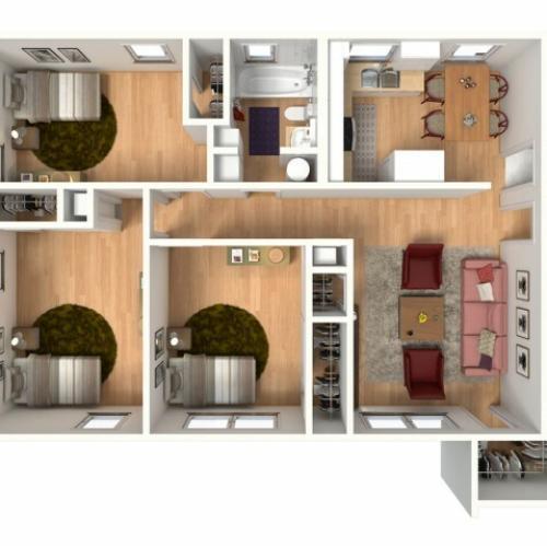 Decent Apartments: 2 Bed / 1 Bath Apartment In DALLAS TX