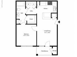 FLoor PLan 2   Ladson SC Apartments   Cypress River
