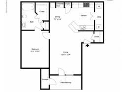 FLoor PLan 3   Apartments Ladson SC   Cypress River