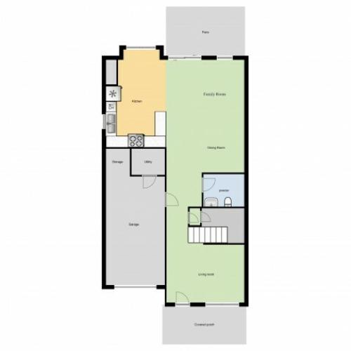 Buffalo Soldier Acres (SNCO4)1st Floor