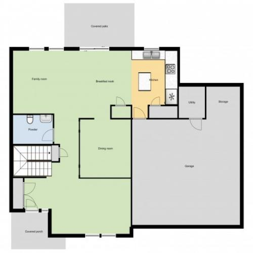 Buffalo Soldier Acres (SGM4) 1st Floor