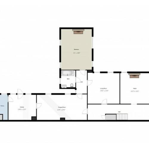 Old Post Quadrangle (SGO4) 1st Floor