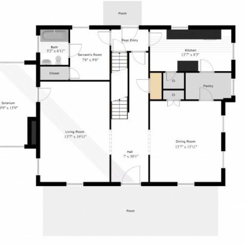 Henry Post Manor (SGM3) 1st Level
