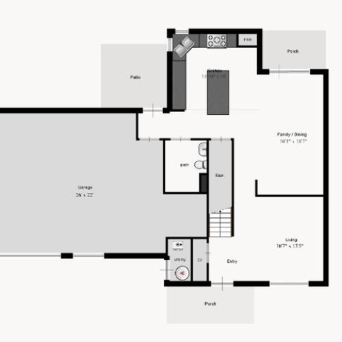Highland 1st Floor
