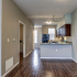Townhome Kitchen/Living Area