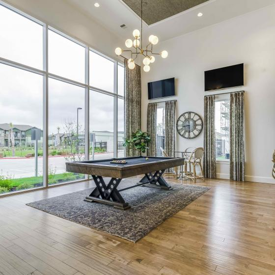 Spacious Resident Club House | Apartments In Rowlett TX | The Towers at Bayside