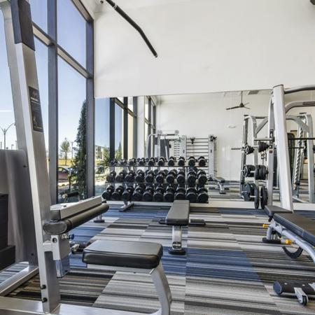 Gym and Weight Machines