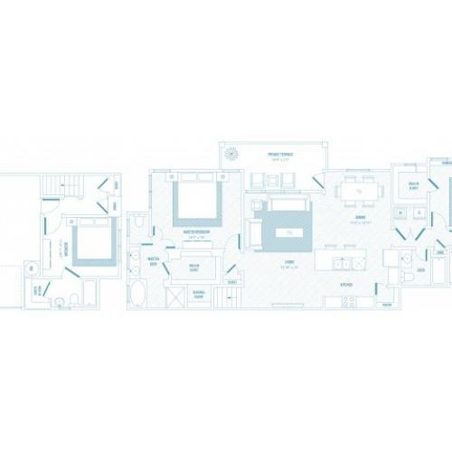 Vibrance Floor Plan