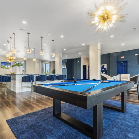 Resident Billiards Table | Apartments Rowlett, TX | The Mansions on the Lake