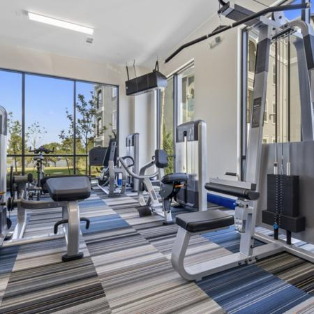 On-site Fitness Center | Rowlett TX Apartments For Rent | The Mansions on the Lake