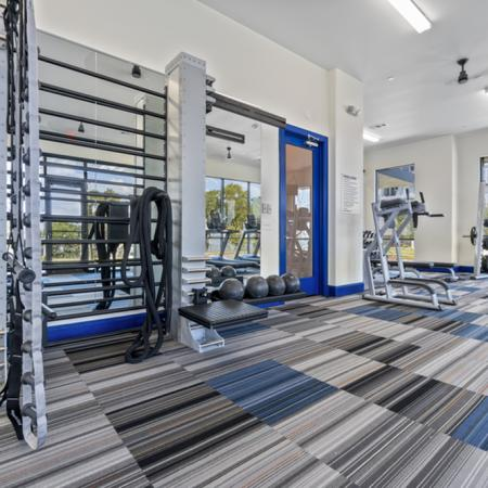 Cutting Edge Fitness Center | Apartments Homes for rent in Rowlett, TX | The Mansions on the Lake