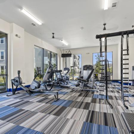 Resident Fitness Center | Apartments Rowlett, TX | The Mansions on the Lake