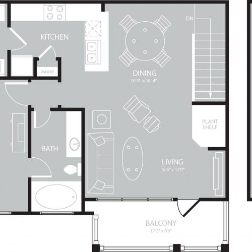Floor Plan 5 | The Mansions on the Park